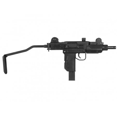 Mini Uzi Co2 Semi et Full Auto Blowback 4.5 mm Full Metal