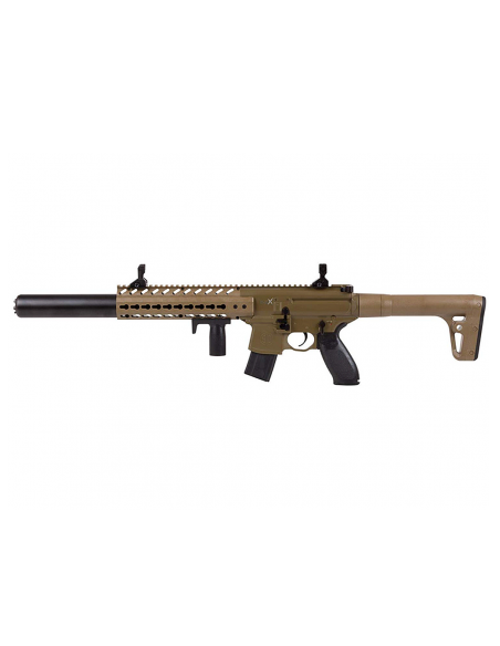 Carabine Sig Sauer MCX Tan 4,5 mm plomb CO2 30 coups