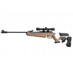 Carabine Quantico Black Ops Tan Lunette 4X32 plomb 4,5 mm 20 J