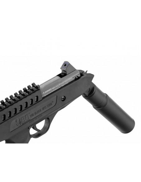 Pistolet a Plomb Langley Silencer Hitman 4,5 mm Air Comprimé 14 J