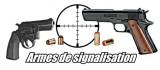Armes de Signalisation